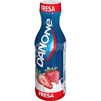 DANONE yogur líquido sabor fresa  botella 575 g