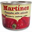 Pimiento morrón entero Lata 125 g Martinez