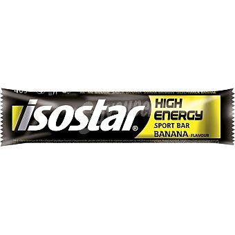 Isostar Barrita energética sabor banana Hight Energy envase de 40 g