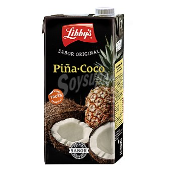 Libby's Néctar de piña y coco Brick de 1 litro