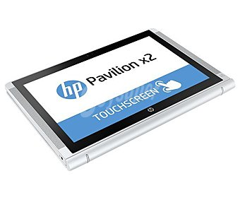 "HP Ordenador portátil con pantalla de 10,1"" táctil HP 10-n106ns, procesador: Intel Atom Z8300, Ram: 2GB, Disco duro: 32GB emmc, gráfica: Intel HD Graphics, Windows 10 Pavilion x2"