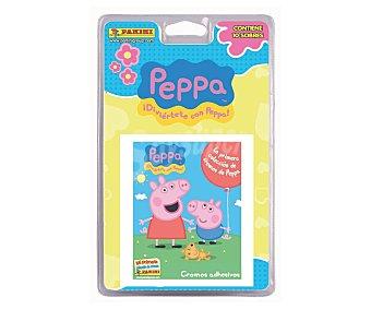 PANINI Blister con 10 sobres de cromos Peppa Pig 2015 1 unidad