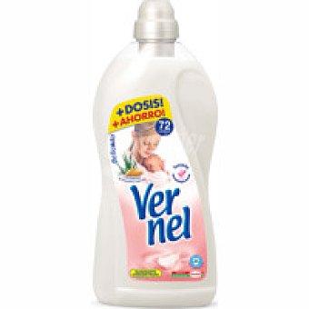 Vernel Suavizante concentrado delicado Garrafa 72 dosis