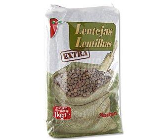 Auchan Lentejas pardina 1 kilogramo