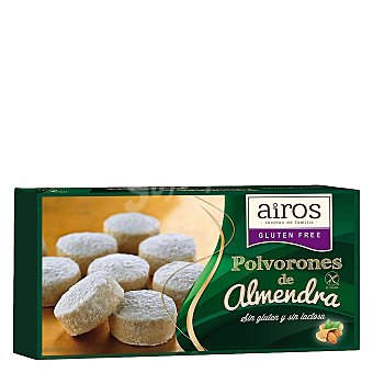 Airos Polvorones de almendra - Sin Gluten 160 g