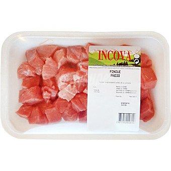 Incova Añojo carne troceada para fondue peso aproximado Bandeja 300 g
