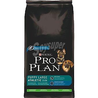 Pro Plan Purina Alimento especial para cachorros de raza grande atléticos con cordero y arroz Large Athletic Bolsa 14 kg