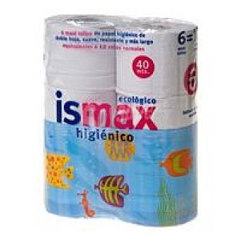 Ismax Papel higiénico Paquete 6 rollos