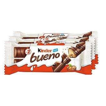 Kinder Kinder Bueno Chocolate 3 paquetes de 2 unidades, 129 g