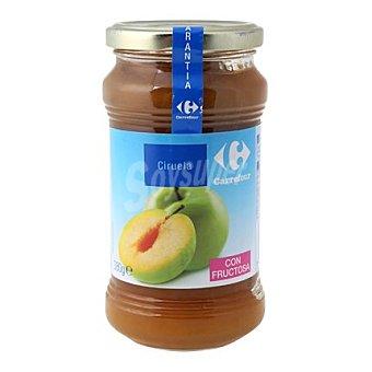 Carrefour Mermelada de ciruela con fructosa 380 g