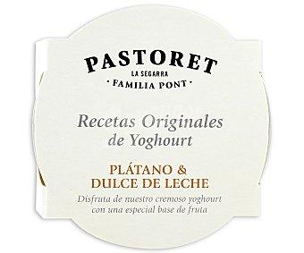 Pastoret Recetas originales platano y dulce de leche 150 GR