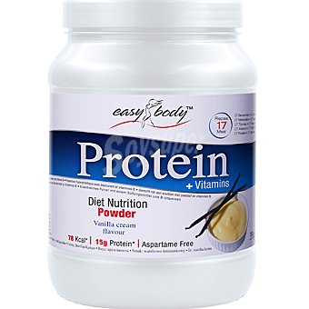 EASY BODY Protein Powder Sabor vainilla Bote 350 g
