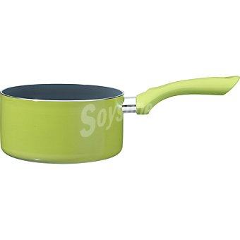 SIRIDA Cerámica Cazo de aluminio para inducción 16 cm en color verde
