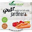 Paté vegetal ecológico con tofu estilo jardinera sin gluten pack 2 tarrinas 50 g pack 2 tarrinas 50 g Soria Natural