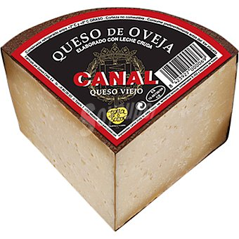Canal Queso de oveja viejo de leche cruda  750 g peso aprox.
