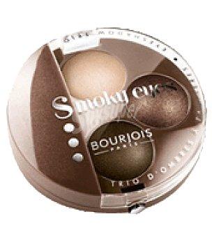Bourjois Paris Sombra de ojos trio Smoky nº 04 nude ingenu 1 ud