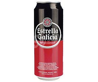 Estrella Galicia Cerveza Lata 50 cl