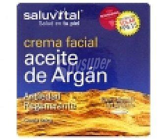 SALUVITAL Crema facial Aceite de Argán (antiedad, regenerante) 50 Mililitros