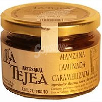 La Tejea Manzana caramelizada Frasco 240 g
