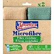 Bayeta Microfibra recicladas spontex - Bicolor 2 ud Spontex