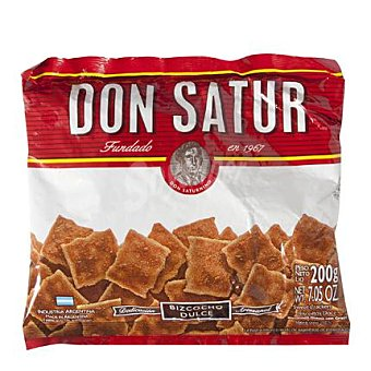 Don Satur Bizcochos dulces 200 g
