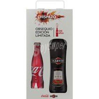 Martini Vermouth Rojo Botella 1 litro + coca cola 25 cl