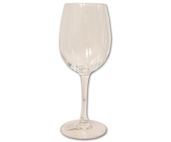 Auchan Copa de vino modelo Cabernet, con capacidad de 35 centilitros 1 Unidad