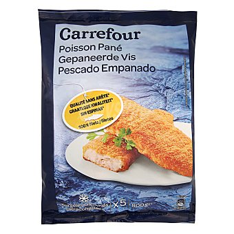 Carrefour Filetes empanados de merluza 800 g