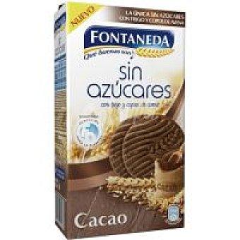Fontaneda Galleta sin azúcar con cacao Caja 315 g