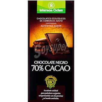 Intermón Oxfam Chocolate negro 70% Tableta 100 g
