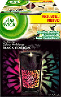 Air Wick VELA BLACK EDIT.VAINILLA 1 UNI