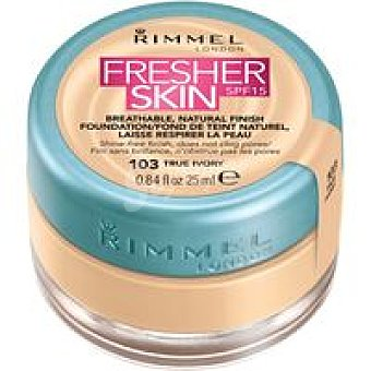 Rimmel London Base de maquillaje líquida Fresh 103 pack 1 unid