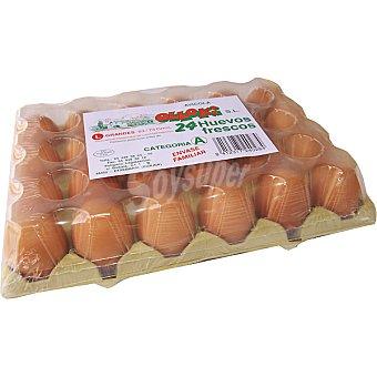 OLLOKI Huevos morenos clase L estuche 24 Unidades