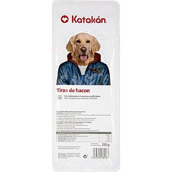 Katakán Tiras de bacon para perros envase 250 g envase 250 g