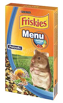 Friskies Purina Alimento completo para hamster Paquete 400 g