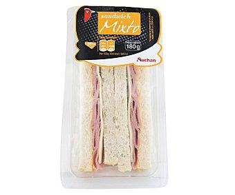 Auchan Sandwich mixto 180 gramos
