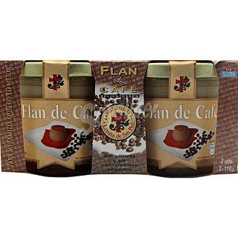 La Ermita de San Pedro Flan de café Pack 2 unds. 110 g