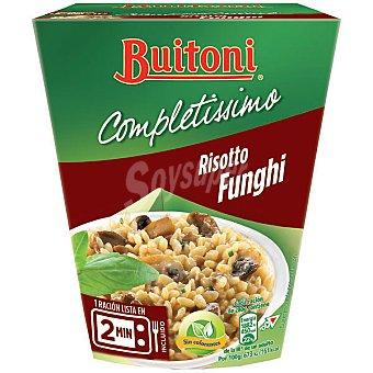 BUITONI COMPLETISSIMO Risotto funghi 1 ración Envase 280 g