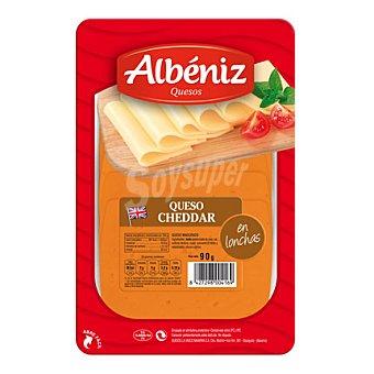 Albeniz Lonchas cheddar 90 g