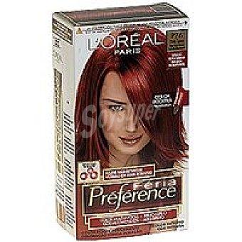 Preference L'Oréal Paris Tinte spice N.76  Caja 1 unid