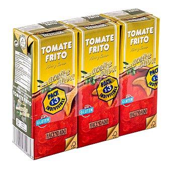 Hacendado Tomate frito aceite oliva Pack 3 x 210 g -630 g