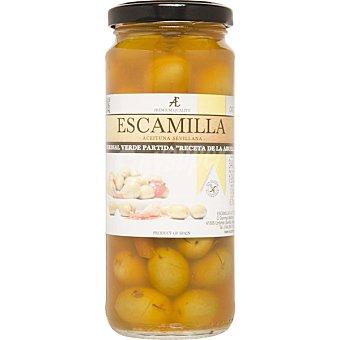 ESCAMILLA aceituna verdial partida aliño receta de la abuela  frasco 198 g
