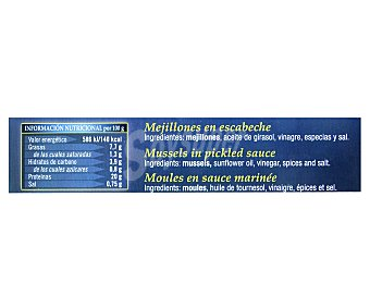 Orbe Mejillones en escabeche 160 g