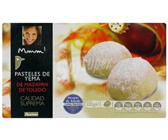 Mmm Auchan  Mazapán Pastel Yema D.O. Toledo 300g