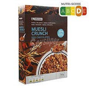 Eroski Cereales Absolut muesli crunch chocolate 500 g