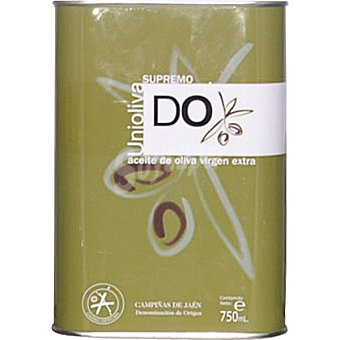 UNIOLIVA Supremo AÑ aceite de oliva virgen extra  lata 750 ml