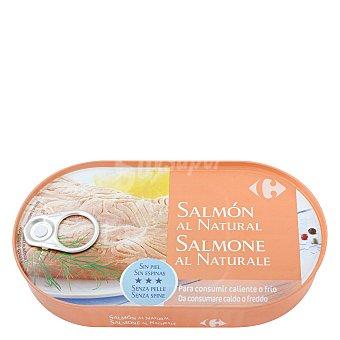 Carrefour Filetes de salmón al natural 125 g