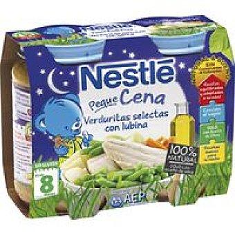 Nestlé Tarrito de lubina Peque Cena Pack 2x200 g