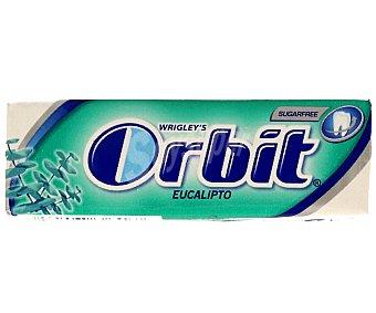 Orbit Chicles sin azúcar de eucalipto 14 g