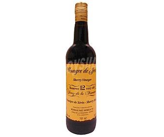 RESERVA 12 Vinagre de vino reserva con denominación de origen Jerez de la Frontera Botella de 750 mililitros